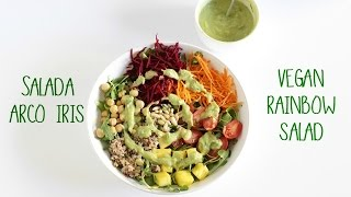Salada Arco Iris | Rainbow Salad