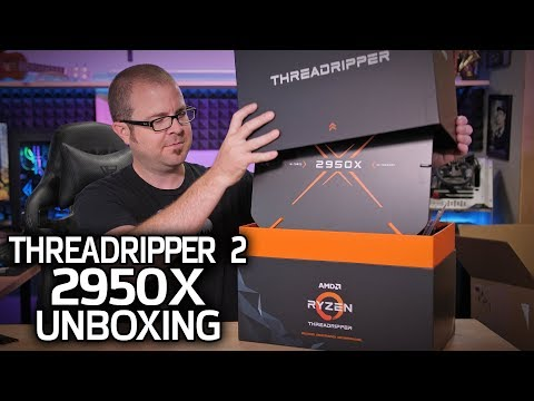 IT'S HERE - Threadripper 2 2950X Reviewer's Kit Unboxing!