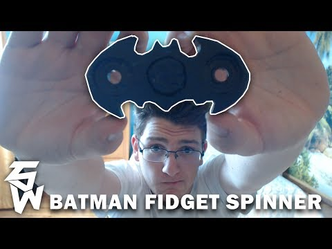 Batman Fidget Spinner | #DIY