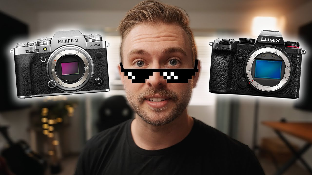 choosing the Fuji XT4 over the Lumix S5, obviously (ZMQ&A #16)