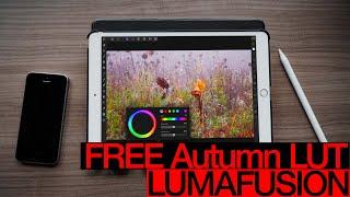 إنشاء الخاصة بك طرفية الخريف طرفيات المستعملين المحليين على باد الخاص بك - تقارب الصورة LumaFusion كيفية التعليمي
