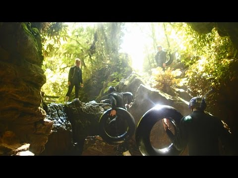 New Zealand: Waitomo Glowworm Caves
