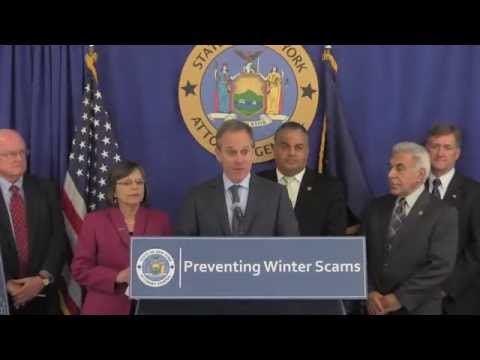 A.G. Schneiderman And D.A. Mollen Issue Consumer Alert For Cold Weather Scams
