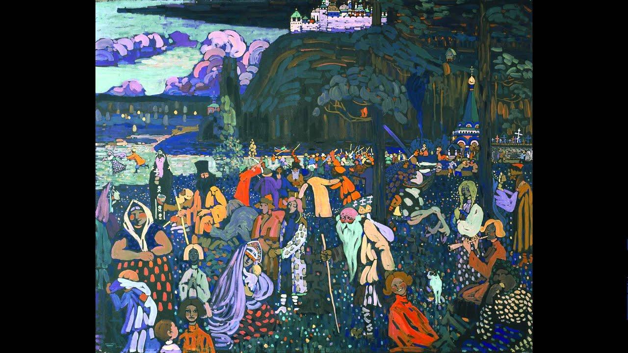 Wassily Kandinsky Das Bunte Leben 1907