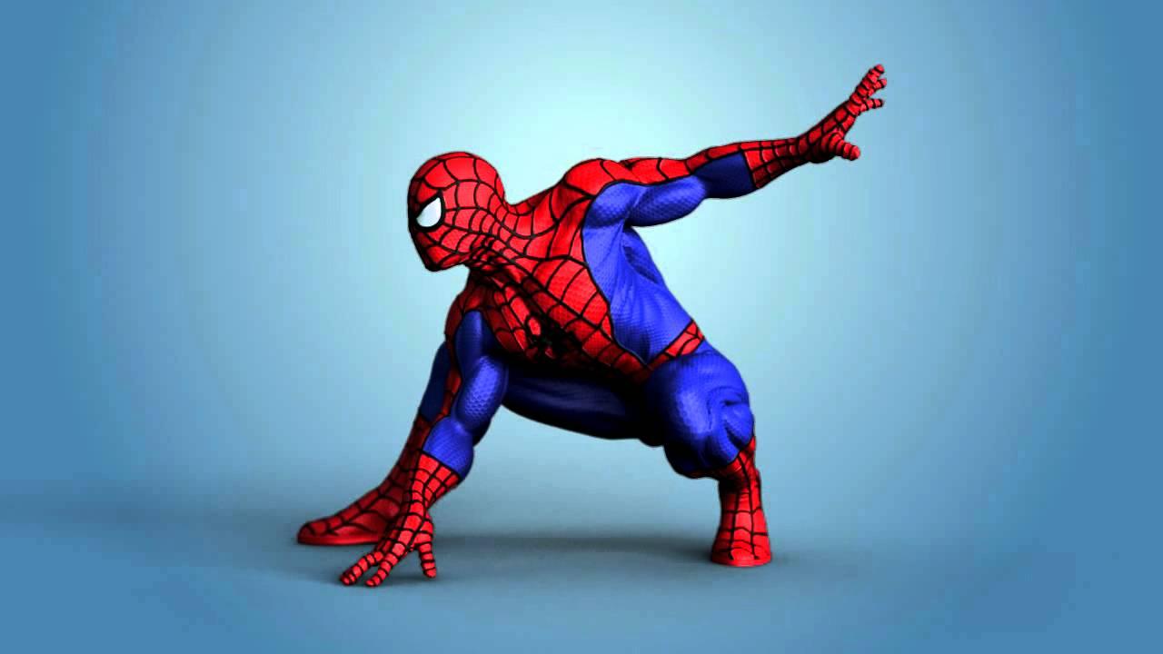 Spiderman 3d Model Youtube
