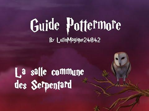 Guide Pottermore // La salle commune des...