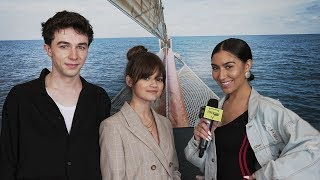 Mark McKenna & Ciara Bravo Chat With Jessica Vanessa About Filming The New Series