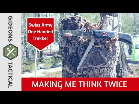 Making Me Think Twice! Swiss Army Trekker
