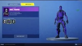 Selling OG Fortnite Account! (OG SKULL TROOPER, 600+ wins, 100+ skins)