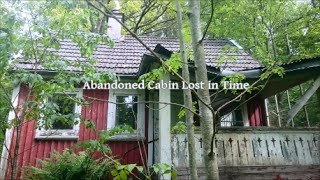 Abandoned Cabin Untouched and forgotten Time Capsule from 1990 last...