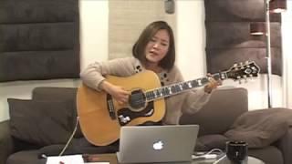 2013.11.24 森恵さんのUSTREAMライブより ・ギターカバーアルバム「Grac...