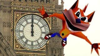 Big Ben plays Crash Bandicoot Theme
