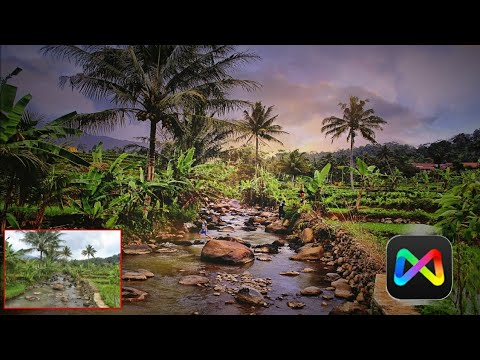 Mix By Camera360 Fantasy Editing Tricks | Best Sunset Effect Android App | Mix By Camera360