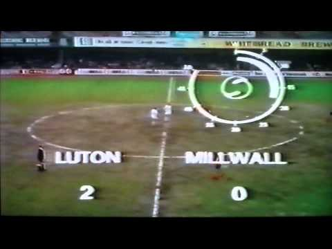Luton Town 3-0 Millwall Lge Faulkner Anderson Hindson 20th Apr 1974.AVI