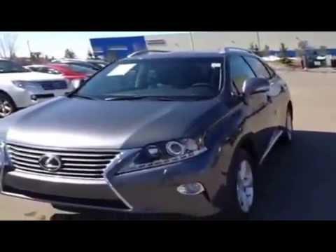 2013 Lexus RX 350 AWD Door Sport Utility High Prairie Alberta