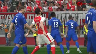 ►✪ Arsenal - Leicester City | PES 2017