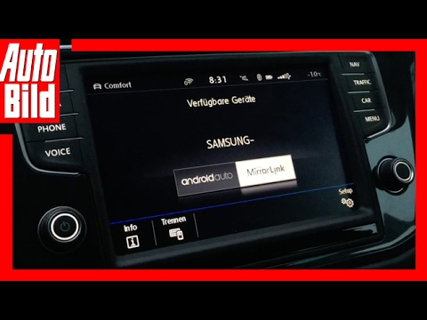 Auto Bild Quick Shot: VW Tiguan (2017) - Tiguan im Connectivity Check - Review/Details/Erklärung