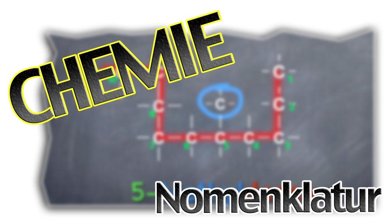 Benennung von verzweigten Alkanen - Nomenklatur | Chemie Teil 4 ...
