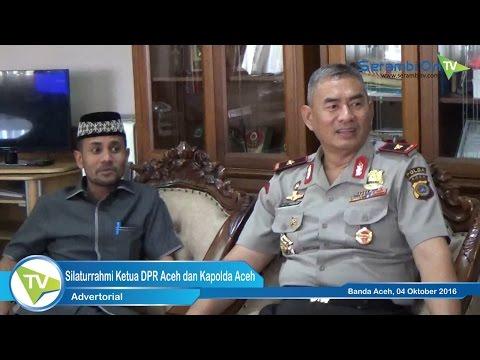 Silaturrahmi Ketua DPR Aceh dan Kapolda Aceh