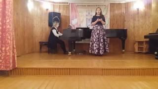 Битько Дарья - Ария Бастьены Моцарт