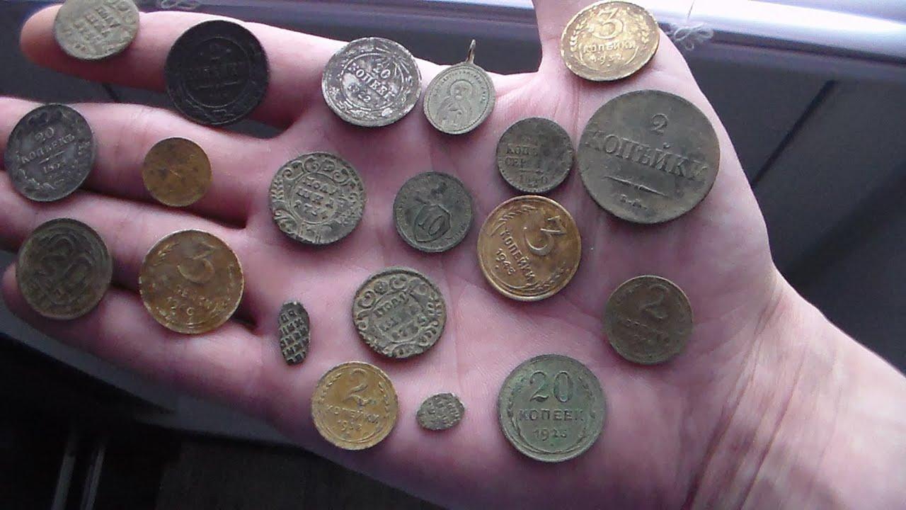 Можно ли заработать с металлоискателем,на поиске монет!!! - .