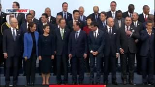 Церемония фотографирования участников Конференции по климату прошла без Путина / Париж(Путин опоздал на фотографирование в Париж, чтобы не видеть Эрдогана. 30.11.2015 церемония фотографирования..., 2015-11-30T13:20:55.000Z)