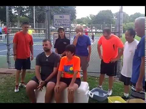 Nancy Robertson & Pat Crandall ice bucket video