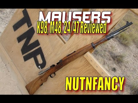 World's Best Mausers: K98, M48, Yugo 24/47 [Full Reviews]