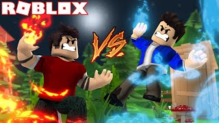 We GAIN FIRE and WATER POWER in the ROBLOX Elemental Battlegrounds 1
