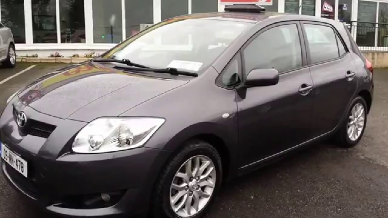 2009 toyota auris t3 1 4 d4d youtube. Black Bedroom Furniture Sets. Home Design Ideas