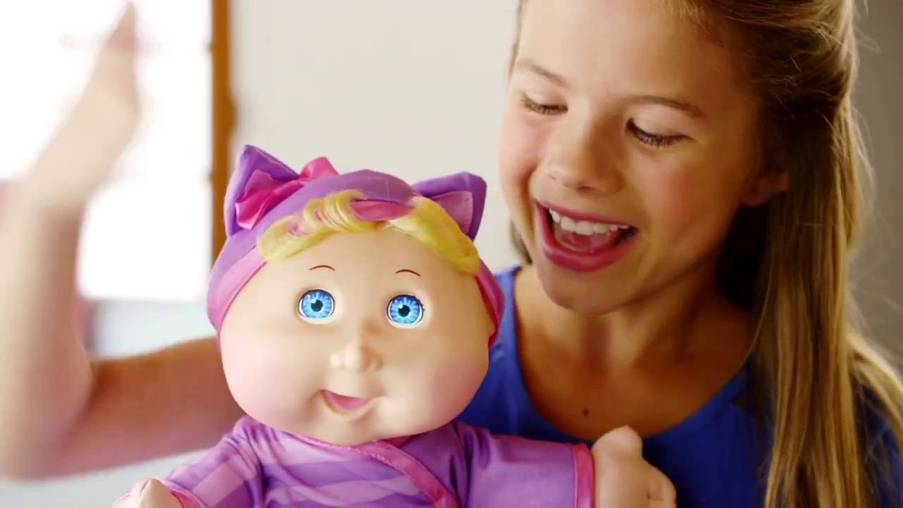 Baby Toy Commercial : Cabbage patch kids baby so real tv commercial youtube