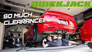 THESE ARE AWESOME! QUICKJACK 7000SLX Setup and First Impressions! - NO MORE JACKSTANDS!