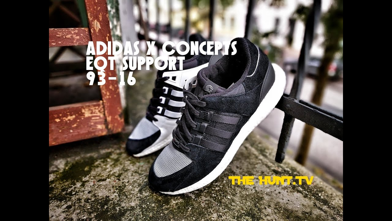 best website 82e3a 95900 Coming Home for an Adidas X Concepts EQT Support Unboxing