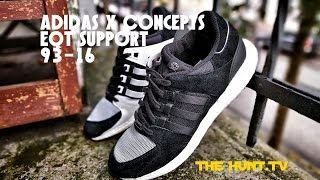 coming home for an adidas x concepts eqt support unboxing