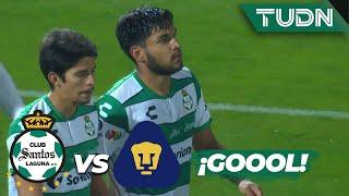 ¡Esto ya es goleada de Santos! | Santos 4 - 0 Pumas | Copa MX - 8vos Ida | TUDN
