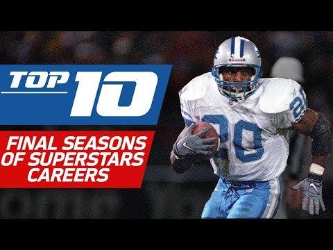 Top 10 Final Seasons of NFL Superstars Careers | NFL Films