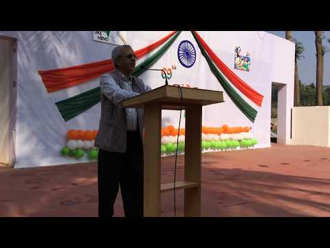 'Bharat that is India', Dr. Subhash Sharma @ Republic Day 2018
