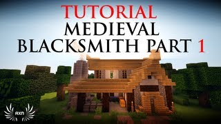 minecraft blacksmith medieval build ck