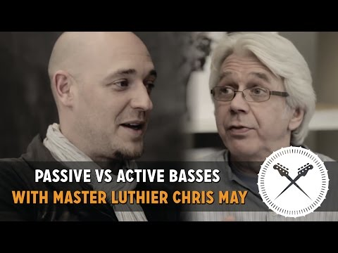 """Passive Vs Active Basses"" - In Conversation with Master Luthier Chris May of Overwater basses"