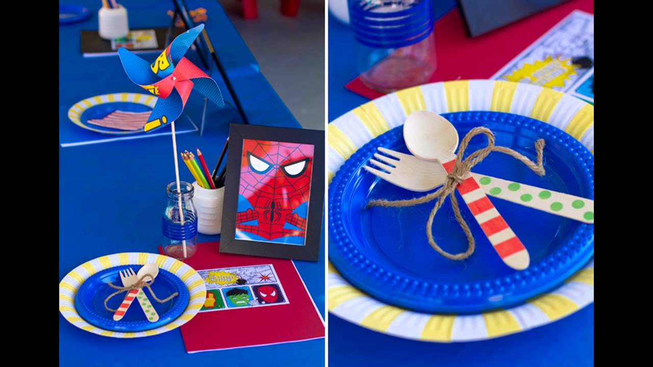 Great Superman themed party ideas YouTube