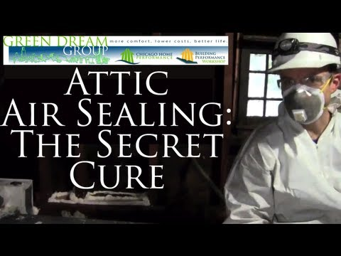 How to Air Seal Your Attic: The Secret Home Improvement BEFORE Attic Insulation