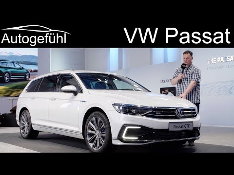 VW Passat B8 Facelift REVIEW R-Line vs Alltrack vs GTE 2019 2020 (EU version)