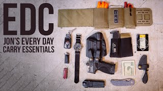 Jon's EDC Selections - Every Day Carry Items For Normal Attire