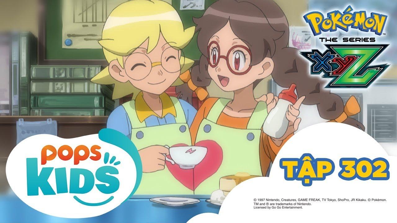 Pokémon Tập 302 - Cô dâu của Shitoron!? Hoạt Hình Pokémon Tiếng Việt S19 XYZ