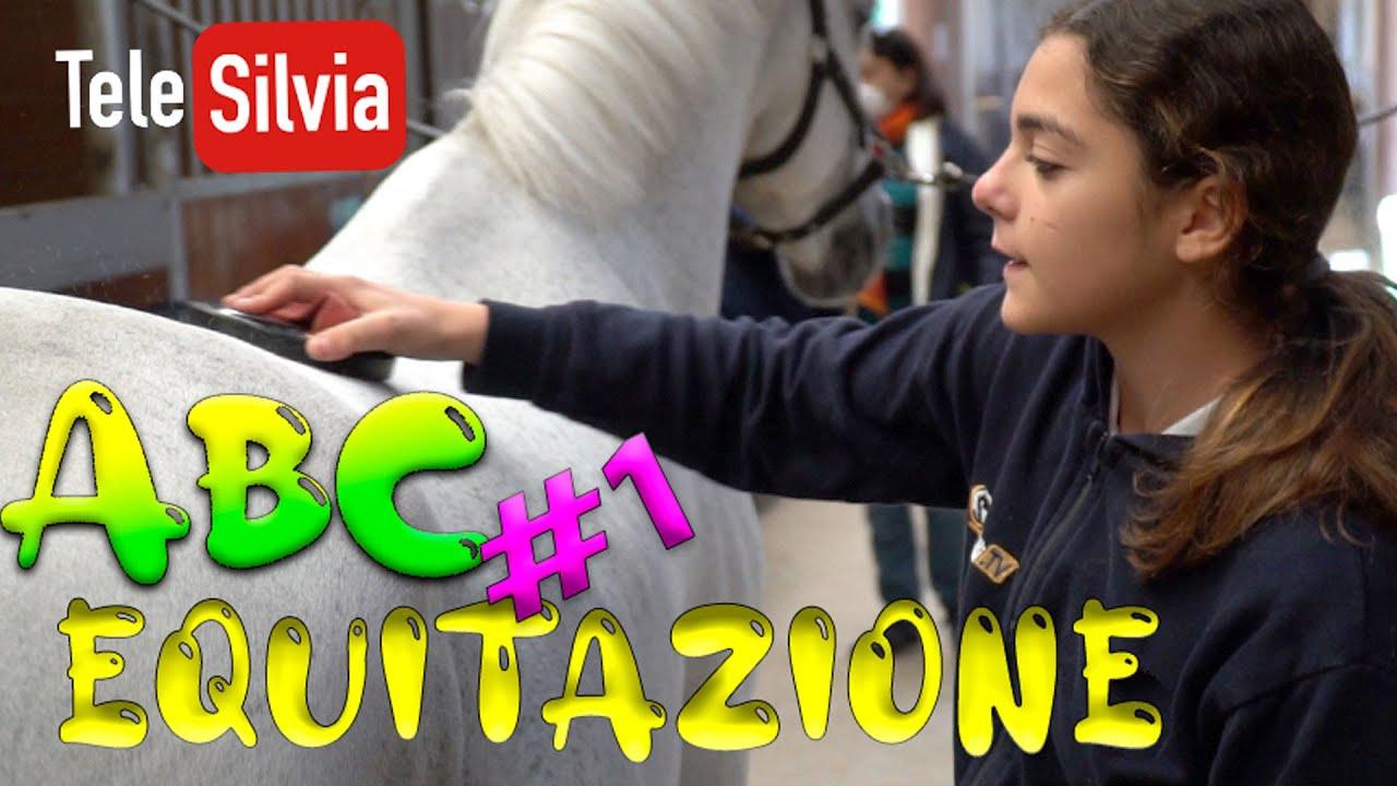 A SCUOLA DI EQUITAZIONE ABC - LEZ. 1 - PRIMA DI SALIRE SUL CAVALLO by #TeleSilvia