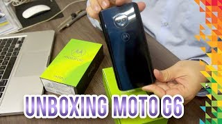 Unboxing Moto G6 - TED Marketing