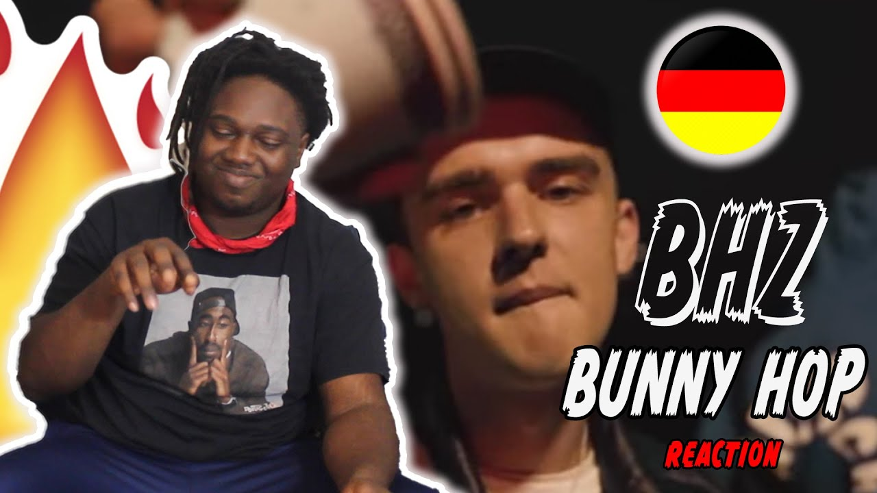 BHZ - BUNNY HOP (Prod. by Themba) | GERMAN RAP REACTION