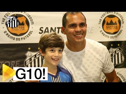 Giovanni visita a Santos Store de São Bernardo do Campo