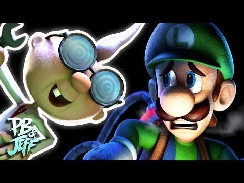 NO OLD PROFESSORS! - Luigi's Mansion 3DS Co-Op (Part 5)
