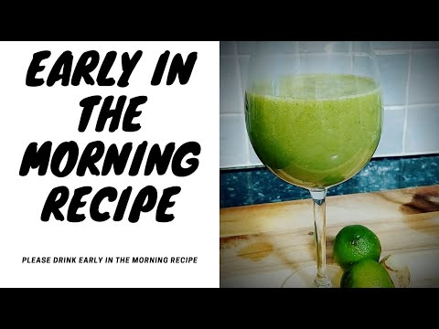 please-drink-early-in-the-morning-|-recipe-by-chef-ricardo-cooking